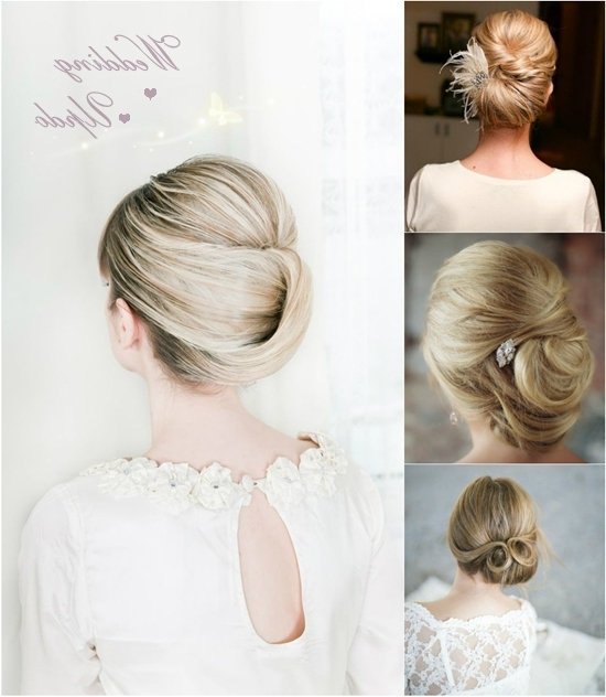 5 Easiest Wedding Updo You Can Createyourself – Vpfashion For Current Easy At Home Updos For Long Hair (View 4 of 15)