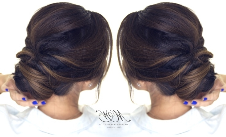 5 Minute Romantic Updo Tutorial   Elegant Easy Hairstyles Intended For Most Up To Date Easy Long Hair Updo Everyday Hairstyles (View 7 of 15)