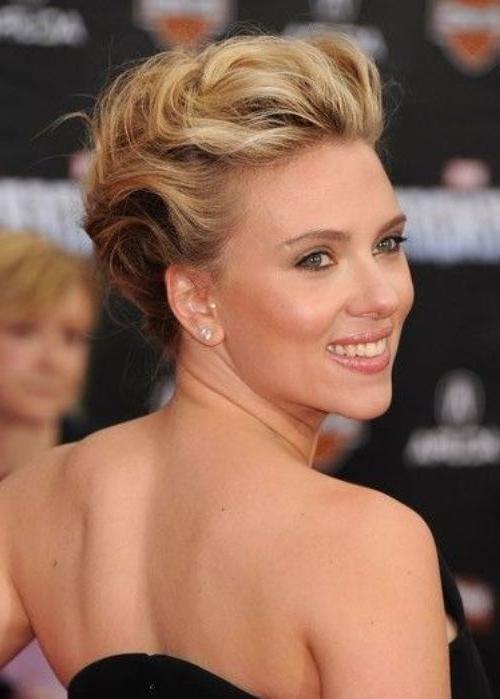 50 Best Updos For Short Hair | Herinterest/ Inside Most Recent Soft Updos For Short Hair (View 3 of 15)