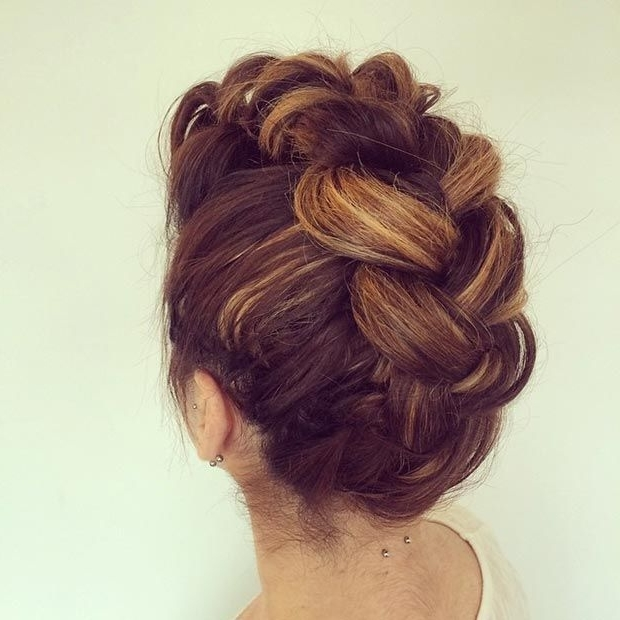 50 Cute And Trendy Updos For Long Hair   Updos, Instagram And Hair Style With Regard To Most Popular Funky Updo Hairstyles For Long Hair (View 4 of 15)