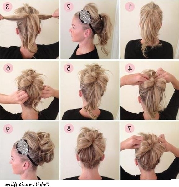50+ Easy Prom Hairstyles & Updos Ideas (Stepstep) Inside Recent Homecoming Updo Hairstyles For Short Hair (View 7 of 15)