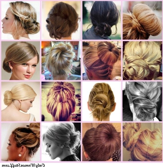 50+ Easy Prom Hairstyles & Updos Ideas (Stepstep) With Most Recent Simple Hair Updo Hairstyles (View 6 of 15)