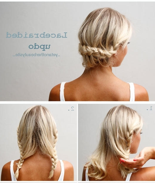50 Fabulous French Braid Hairstyles To Diy | More With Newest Updo Hairstyles With French Braid (View 15 of 15)