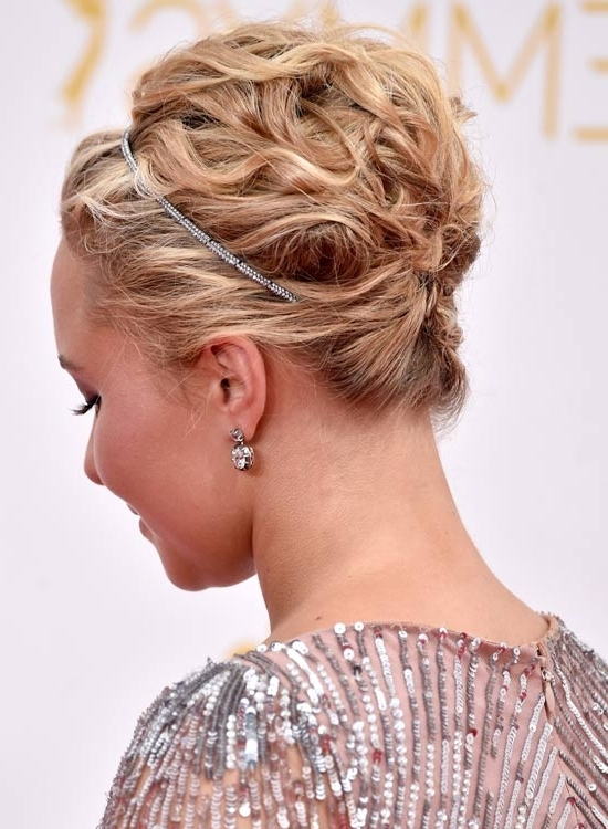 50 Gorgeous Short Updo Hairstyles Intended For 2018 Updo Short Hairstyles (View 11 of 15)