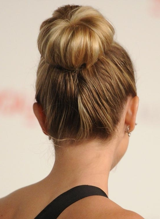 50 Lovely Bun Hairstyles For Long Hair With Regard To Newest Pretty Updo Hairstyles For Long Hair (View 9 of 15)