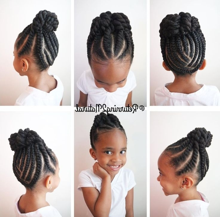 516 Best Kids Hair Care & Styles Images On Pinterest Inside Most Current Children's Updo Hairstyles (View 2 of 15)
