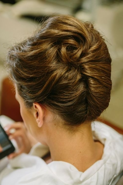 54 Cute & Easy Updos For Long Hair When You're In Hurry Throughout Recent Quick Twist Updo Hairstyles (View 4 of 15)