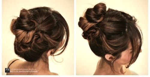 54 Cute & Easy Updos For Long Hair When You're In Hurry Within Most Current Quick Twist Updo Hairstyles (View 5 of 15)