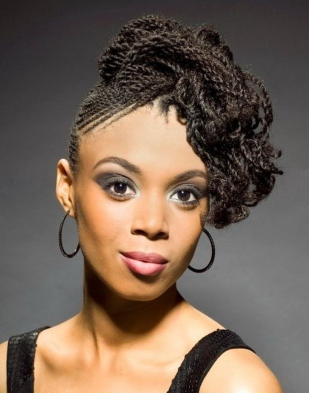 55 Winning Short Hairstyles For Black Women In Most Popular Hair Updos For Black Women (View 5 of 15)