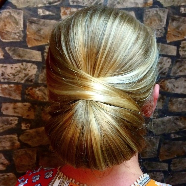 57 Best Wedding Hairstyles Images On Pinterest | Wedding Hair Styles Within Most Current Chignon Updo Hairstyles (View 4 of 15)