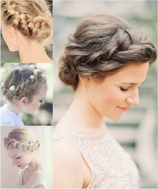 6 Chic Braided Crown Hairstyles For Girls'daily Creation At Home Within Current Braided Crown Updo Hairstyles (View 14 of 15)
