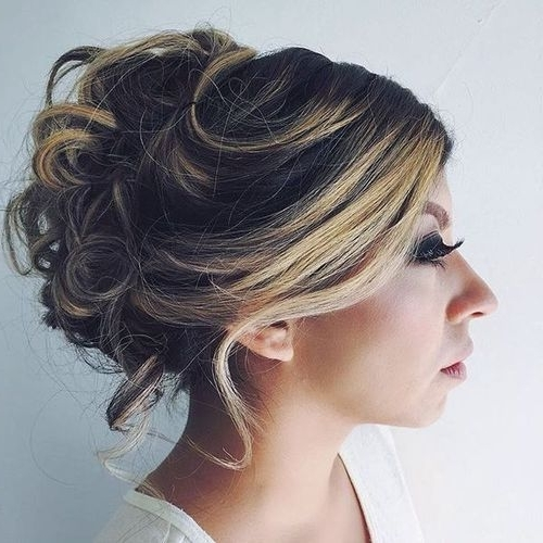 60 Easy Updos For Medium Length Hair Pertaining To Most Recently Updos For Medium Length Hair (View 7 of 15)