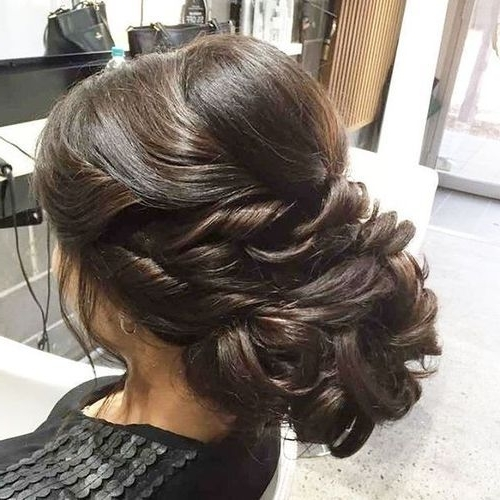60 Easy Updos For Medium Length Hair Regarding Recent Prom Updo Hairstyles For Medium Hair (View 4 of 15)
