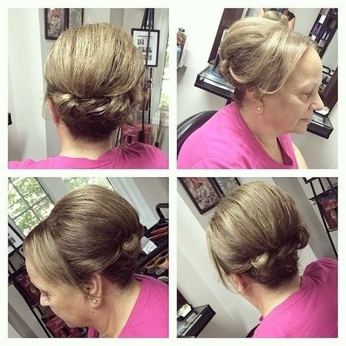 60 Easy Updos For Medium Length Hair With Newest Updo Hairstyles For Mother Of The Bride Medium Length Hair (View 6 of 15)