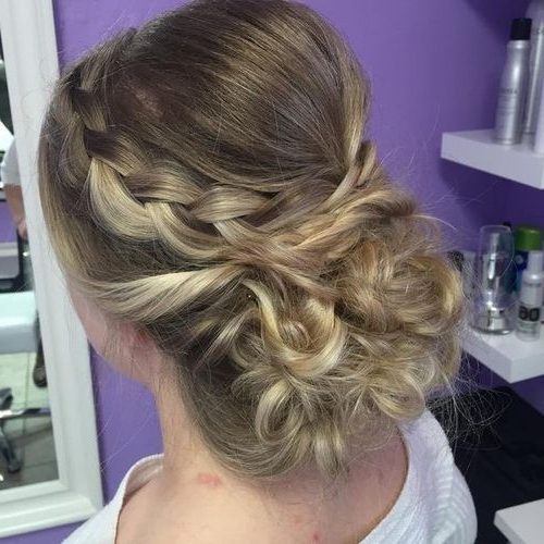 60 Easy Updos For Medium Length Hair Within Most Current Fancy Updos For Medium Length Hair (View 10 of 15)