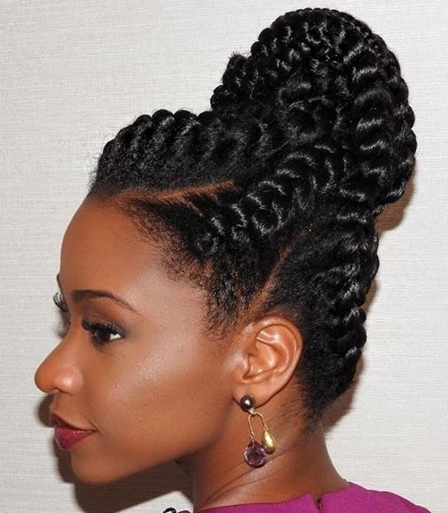 60 Inspiring Examples Of Goddess Braids   Goddess Braids Updo With Regard To Most Popular Braided Updos With Extensions (View 3 of 15)