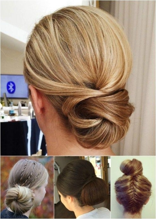 60 Trendiest Updos For Medium Length Hair | Chignons, Up Dos And Formal With Regard To Most Recent Dressy Updo Hairstyles (View 14 of 15)