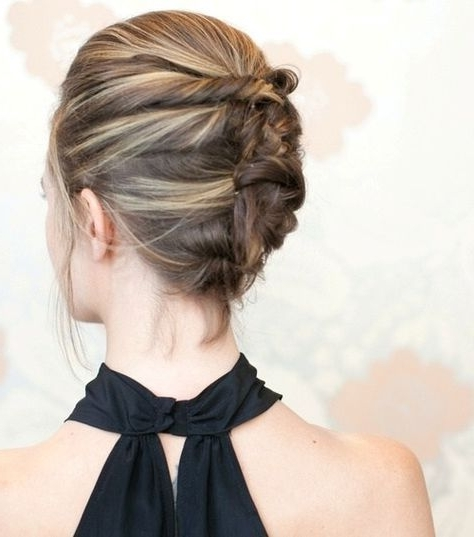 Featured Photo of French Twist Updo Hairstyles For Short Hair