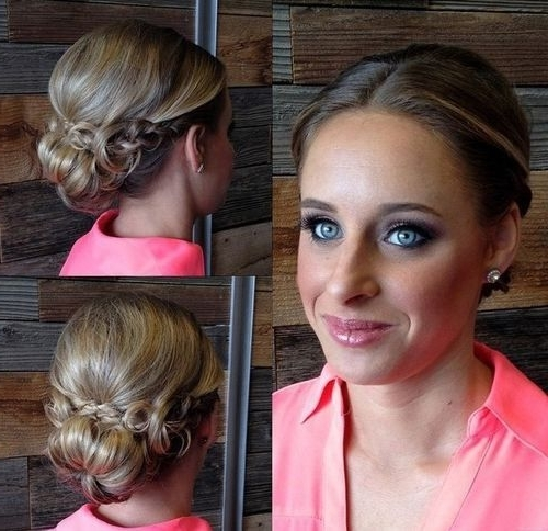 60 Updos For Thin Hair That Score Maximum Style Point | Low Buns Inside Best And Newest Updos For Fine Thin Hair (View 3 of 15)