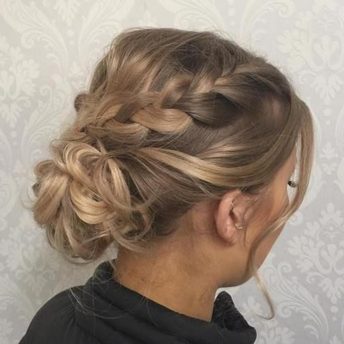 60 Updos For Thin Hair That Score Maximum Style Point | Low Buns Throughout Most Up To Date Formal Updos For Thin Hair (View 5 of 15)