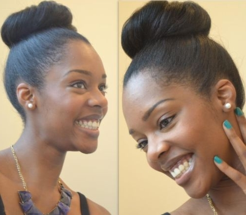 62 Appealing Prom Hairstyles For Black Girls For 2017 Within Most Up To Date Black Girl Updo Hairstyles (View 3 of 15)