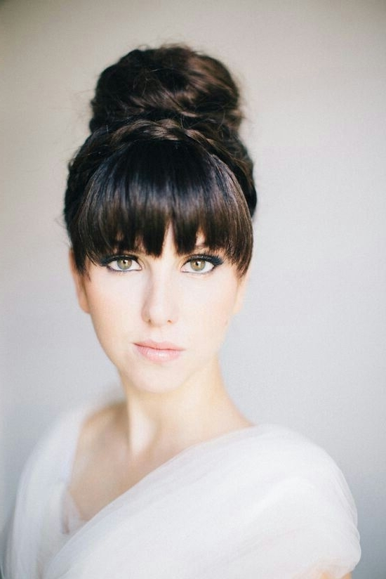 63 Best Purehair | Fringe Images On Pinterest | Hair Cut, Fringes With 2018 Updo Hairstyles With Fringe Bangs (View 10 of 15)