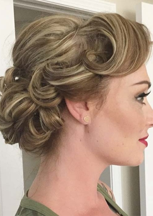 63 Creative Updos For Short Hair Perfect For Any Occasion – Glowsly In Best And Newest Soft Updos For Short Hair (View 5 of 15)