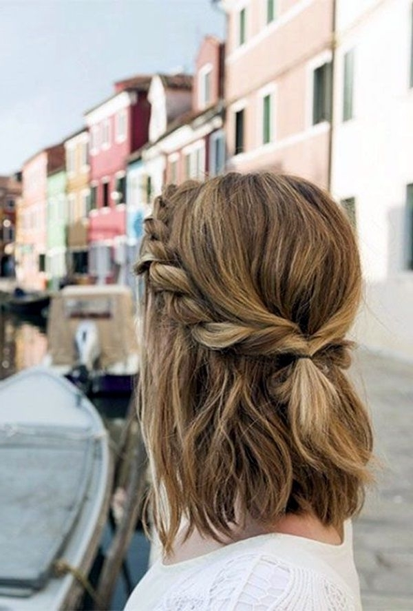 65 Quick And Easy Back To School Hairstyles For 2017 | School With Regard To Most Up To Date Quick Easy Short Updo Hairstyles (View 4 of 15)