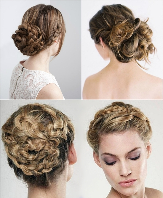7 Braided Hairstyles For Wedding In Autumn 2013 – | Brown Hair Within Recent Braided Updo Hairstyles With Extensions (View 7 of 15)