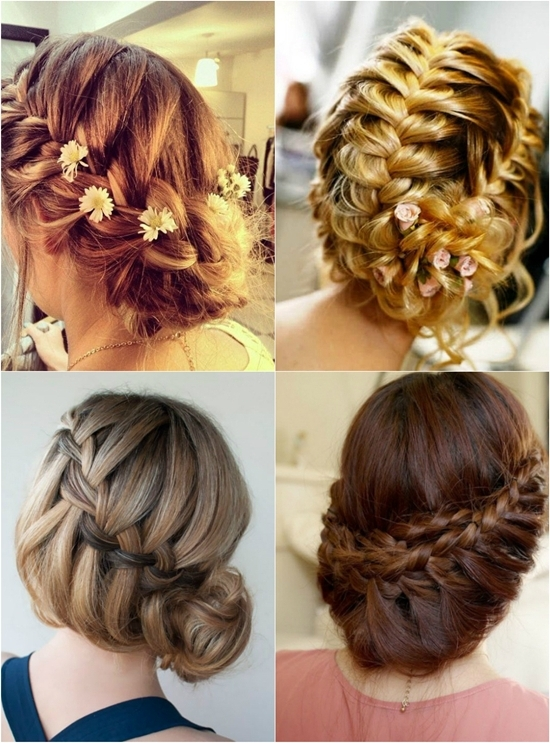 7 Braided Hairstyles For Wedding In Autumn 2013 – Vpfashion In Most Popular Braided Updo Hairstyles With Extensions (View 2 of 15)