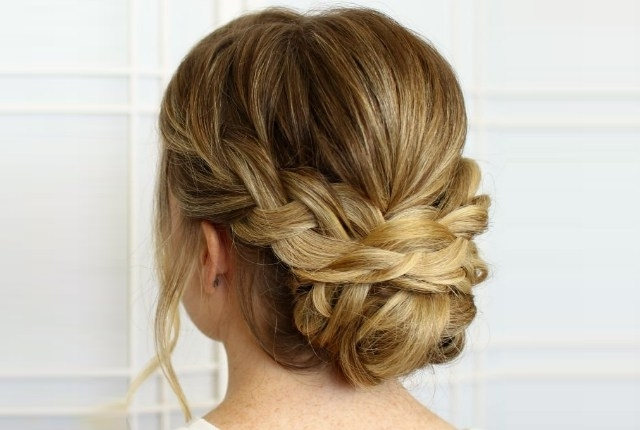 7 Plaited Low Bun Hairstyles | Style Presso With Regard To Newest Updo Low Bun Hairstyles (View 5 of 15)