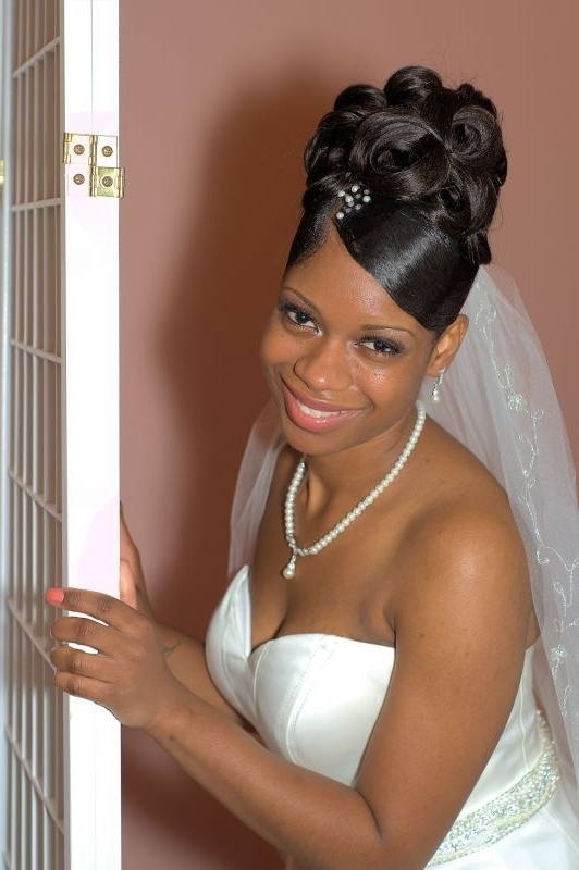 71 Best Brides Updo Images On Pinterest African American Updo Within Latest African American Updo Wedding Hairstyles (View 15 of 15)
