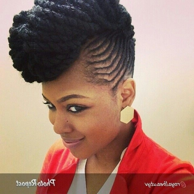 74 Best Braid Designs Images On Pinterest | Natural Hair, African Throughout Best And Newest Braids And Twist Updo Hairstyles (View 4 of 15)