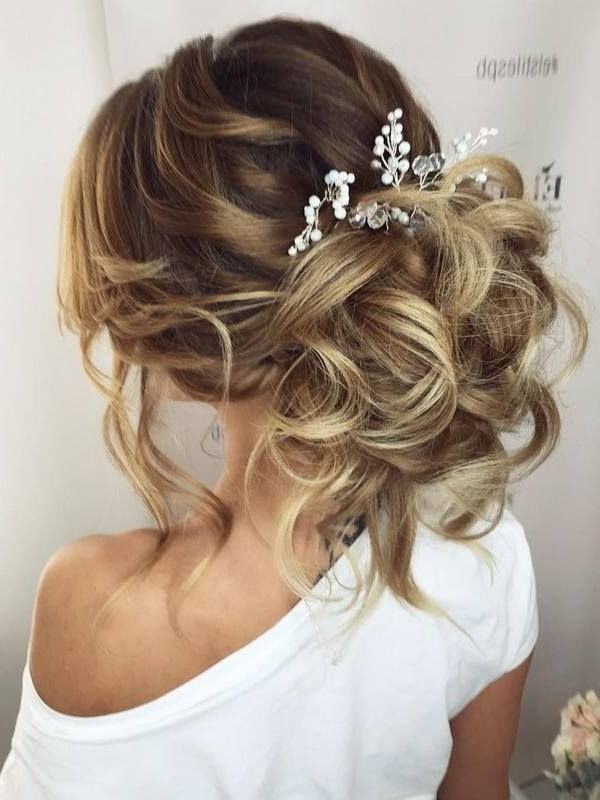 75 Chic Wedding Hair Updos For Elegant Brides | Chongos, Half Updo Throughout Most Current Updo Hairstyles For Wedding (View 9 of 15)