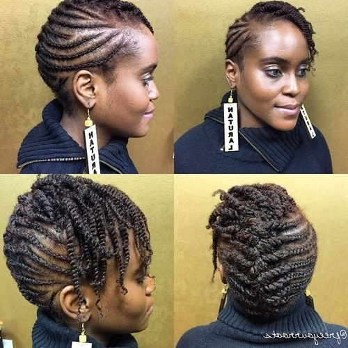 75 Most Inspiring Natural Hairstyles For Short Hair In 2018 In Most Recently Natural Hair Updos For Short Hair (View 6 of 15)