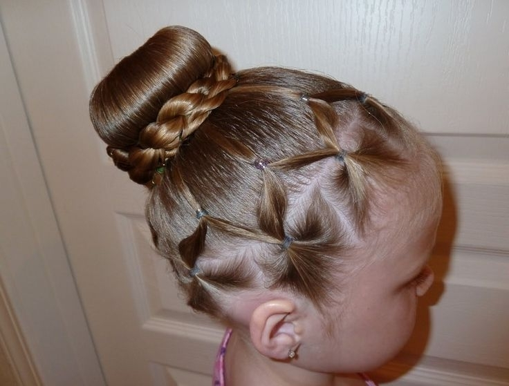 77 Best Paislee Images On Pinterest | Girls Hairdos, Little Girl Intended For Recent Children's Updo Hairstyles (View 6 of 15)