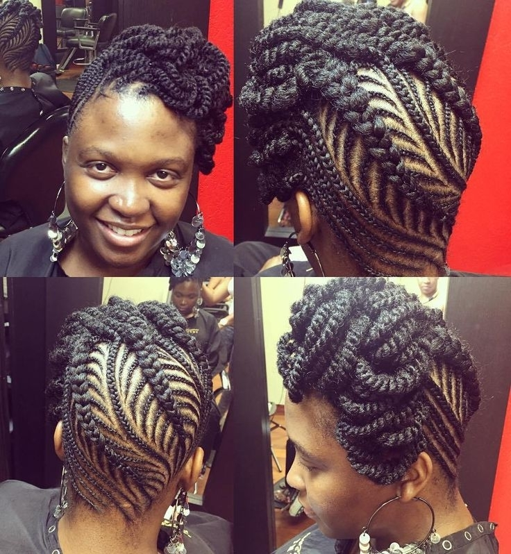 8 Best Hair Images On Pinterest | African Braids, Braid Hair Styles In Recent Braided Updo Hairstyles For Black Women (View 6 of 15)