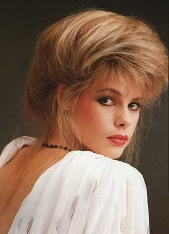 80S Hairstyle 160 | Amara | Flickr Within Most Current 80S Hair Updo Hairstyles (View 15 of 15)