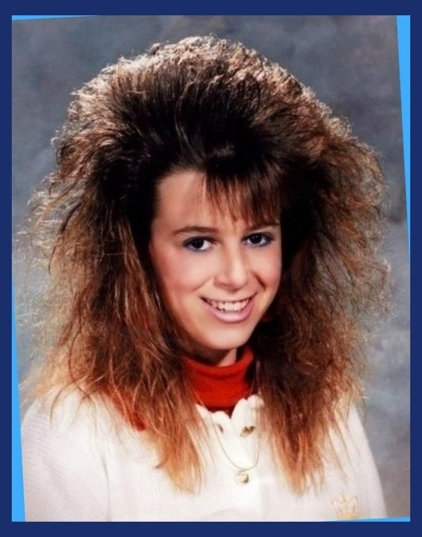 80S Prom Hairstyles With Regard To Hairdo Seemly To Changing In 80S Within Current 80S Hair Updo Hairstyles (Gallery 10 of 15)