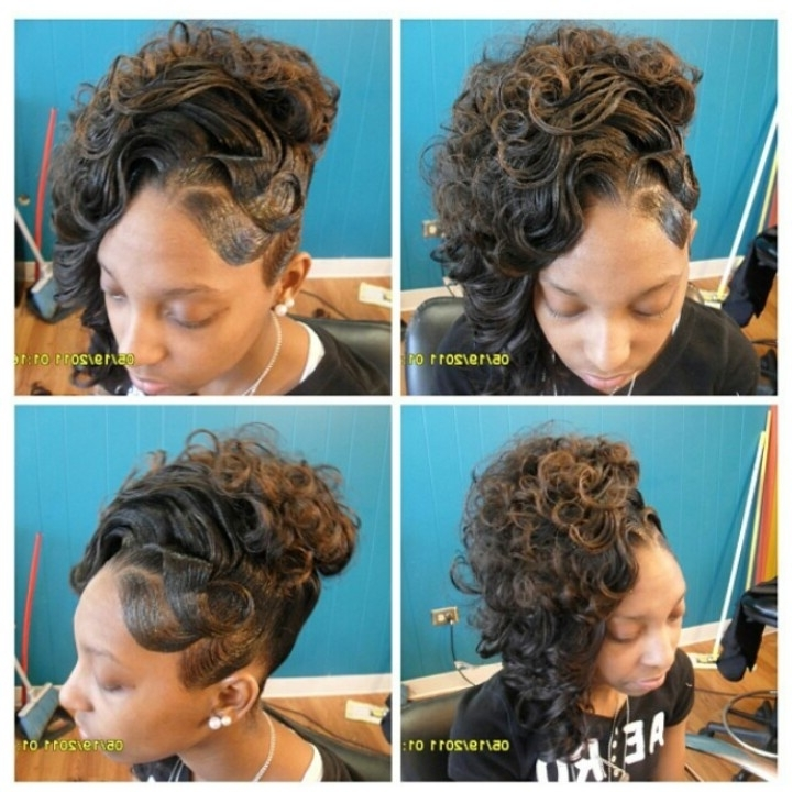 86 Best Curls Images On Pinterest | Hair Styles, Haircut Styles And Regarding Best And Newest Updo Hairstyles For Permed Hair (View 2 of 15)