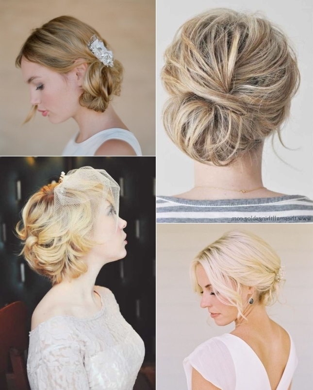 9 Short Wedding Hairstyles For Brides With Short Hair | Confetti (View 7 of 15)
