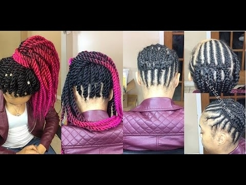 View Photos Of Crochet Braid Pattern For Updo Hairstyles Showing 7