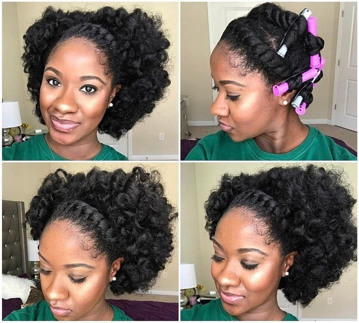 964 Best Braids, Twists, & That Updo Images On Pinterest For Best And Newest Updo Twist Out Hairstyles (View 15 of 15)