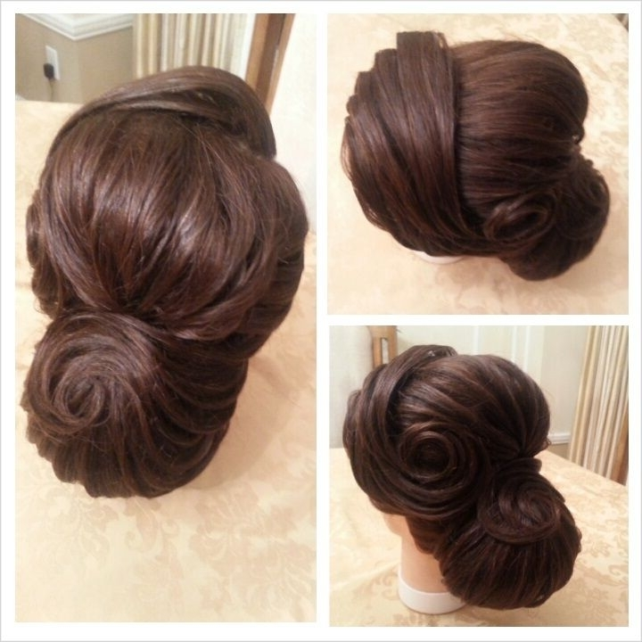 9Fcdcc9414A8E4C05Ee7F48Fda2199Cf 720×720 Pixels | Beauty And Throughout 2018 Chignon Updo Hairstyles (View 3 of 15)