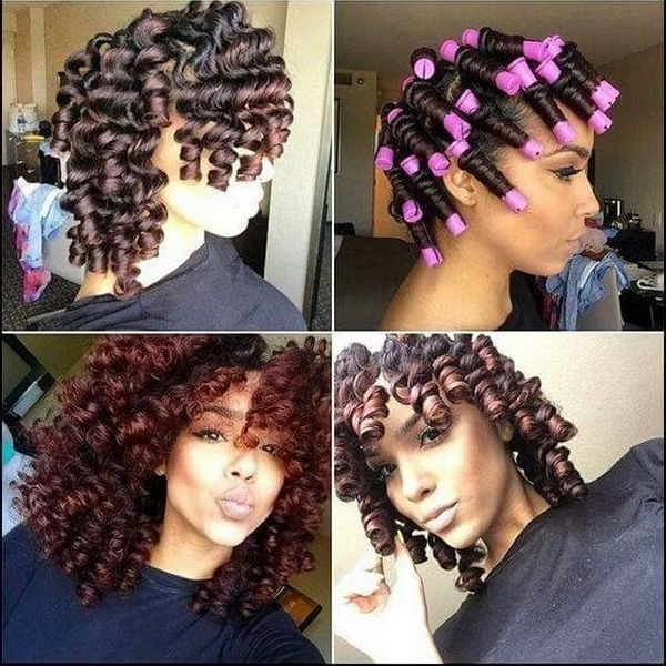 Adorable Cute Black Hairstyles For Medium Hair For Best 25 Medium Inside Newest Updo Hairstyles For Medium Length Natural Hair (View 4 of 15)