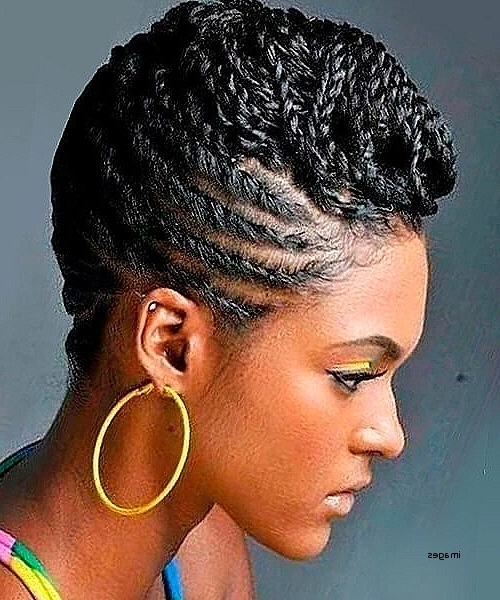 African American Natural Updo Hairstyles Luxury Braided Natural Updo Intended For Most Current Natural Updo Hairstyles (View 13 of 15)