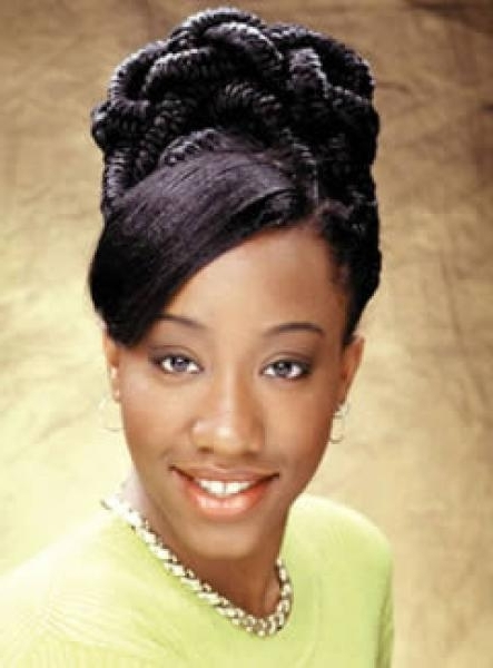 Featured Photo of Afro American Updo Hairstyles