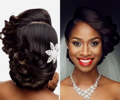 15 Best Ideas of African American Updo Wedding Hairstyles