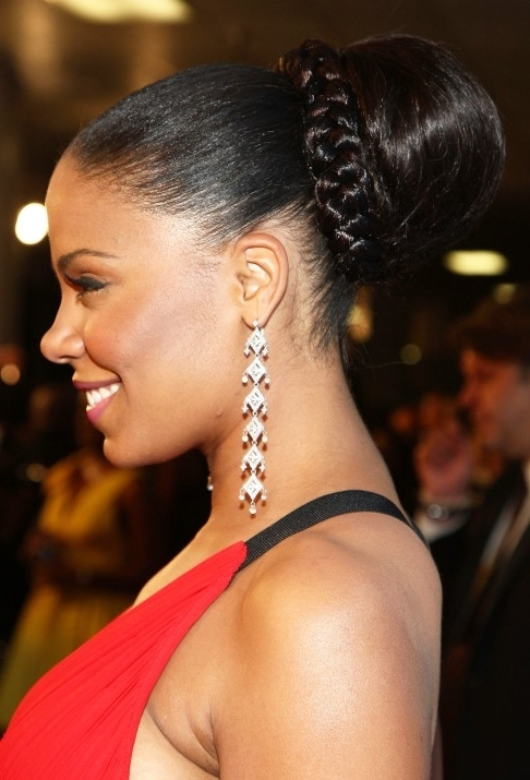 African Americans Prom Updos – Hairstyles Weekly Throughout Latest Afro American Updo Hairstyles (View 7 of 15)