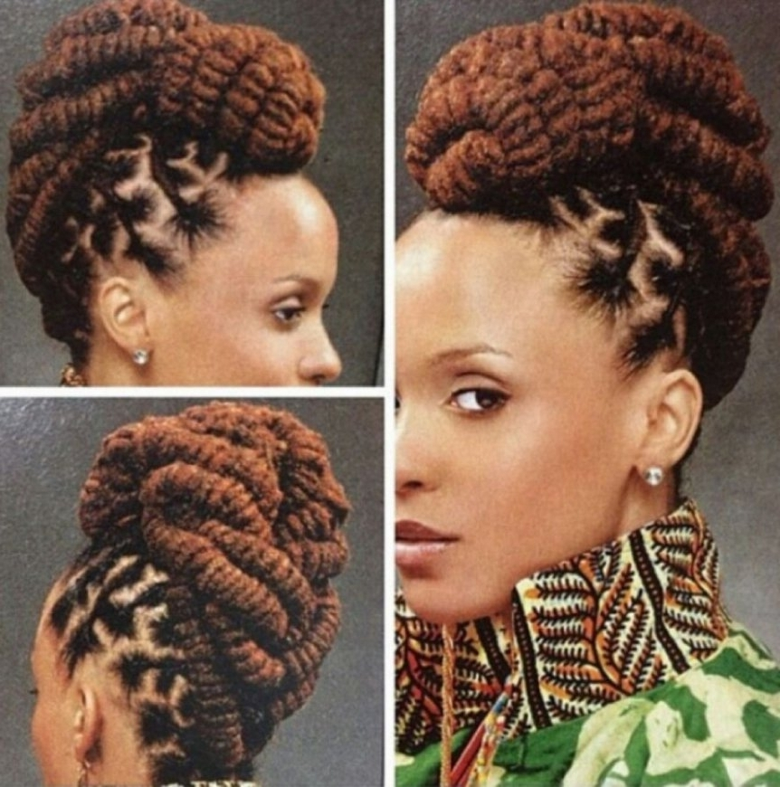 African Braids Updo Hairstyles Braid Hairstyles Braid Hair Braid Inside Newest African Hair Braiding Updo Hairstyles (View 6 of 15)